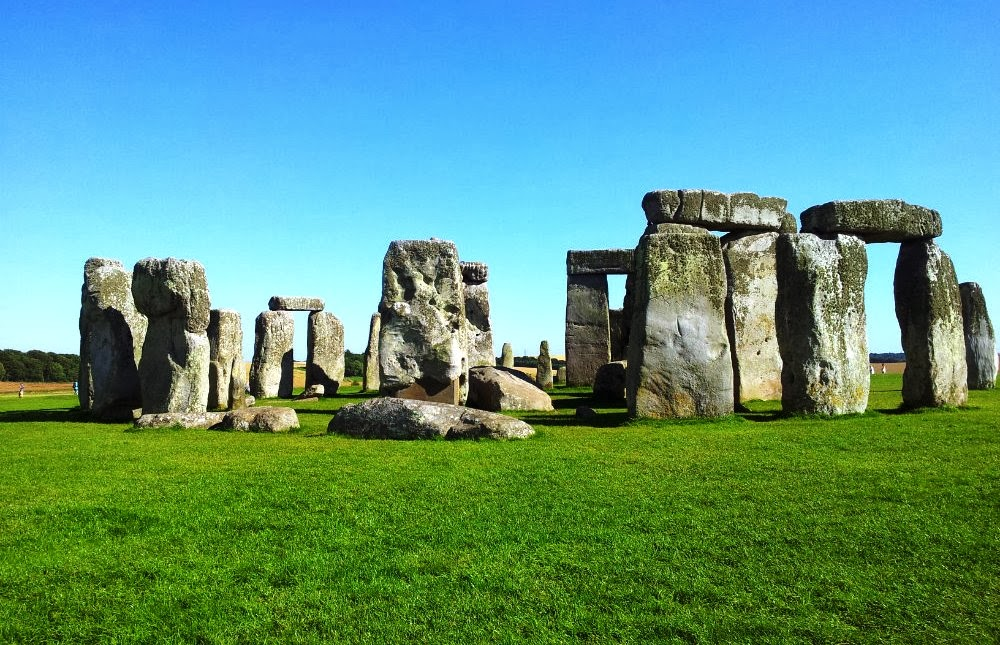 Stonehenge na Inglaterra