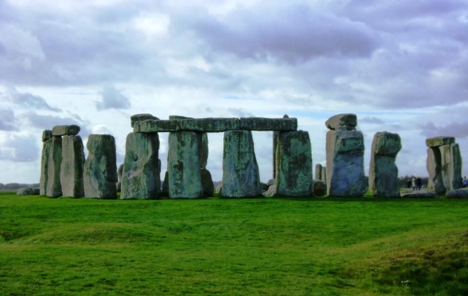 Pedras que compõem o incrível Stonehenge na Inglaterra