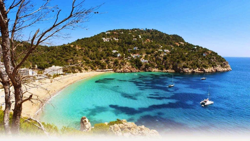 Praia em Ibiza