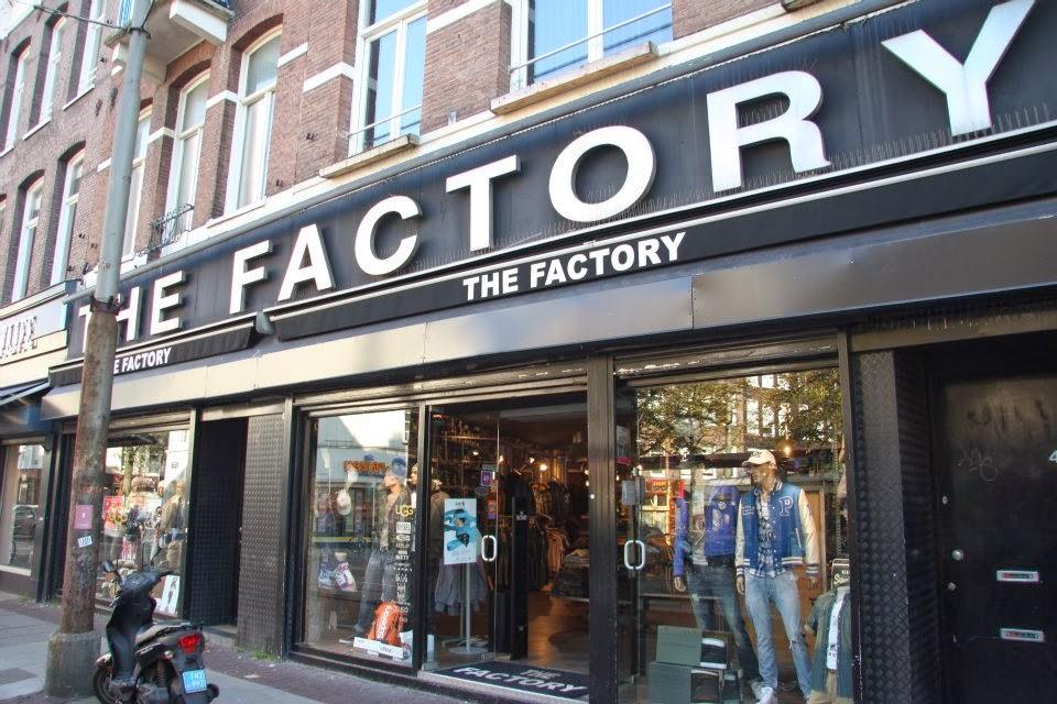 Loja de roupa em Amsterdam na Holanda