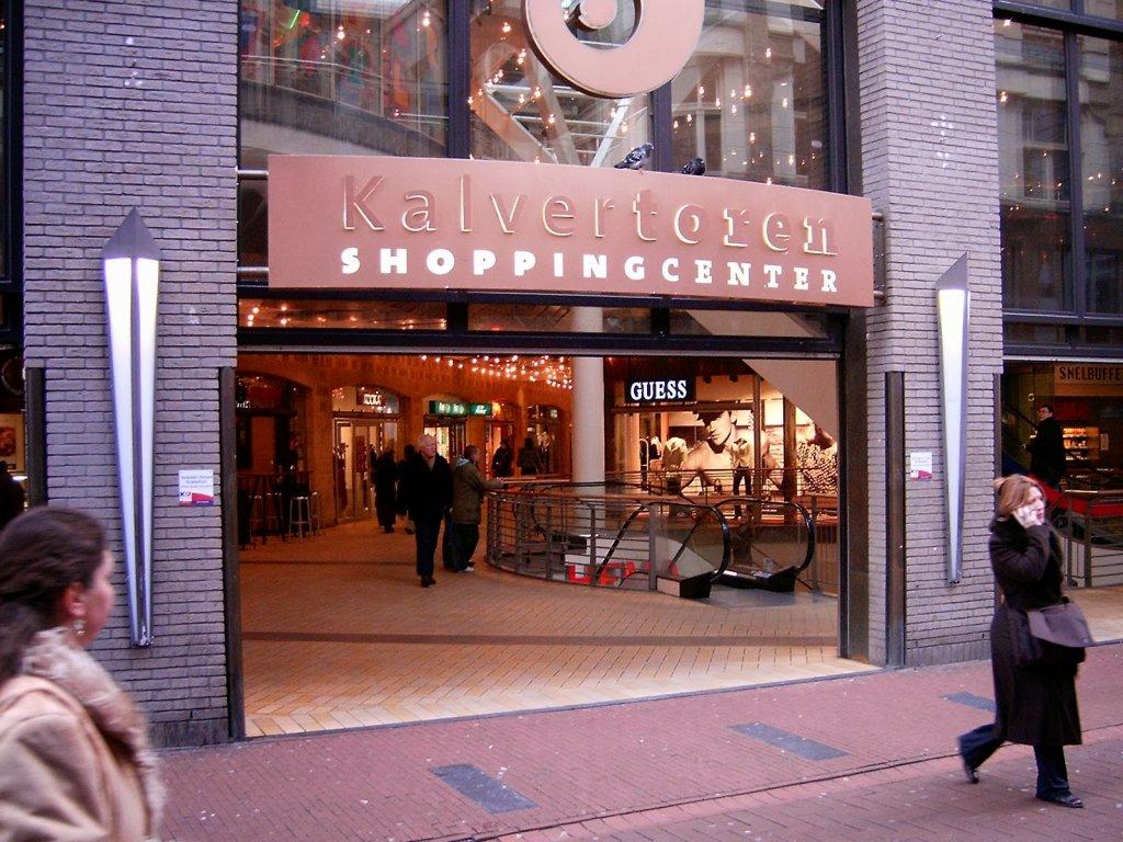 Shopping De Kalvertoren em Amsterdam