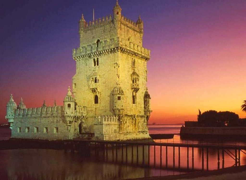 Torre de Belém em Lisboa em Portugal