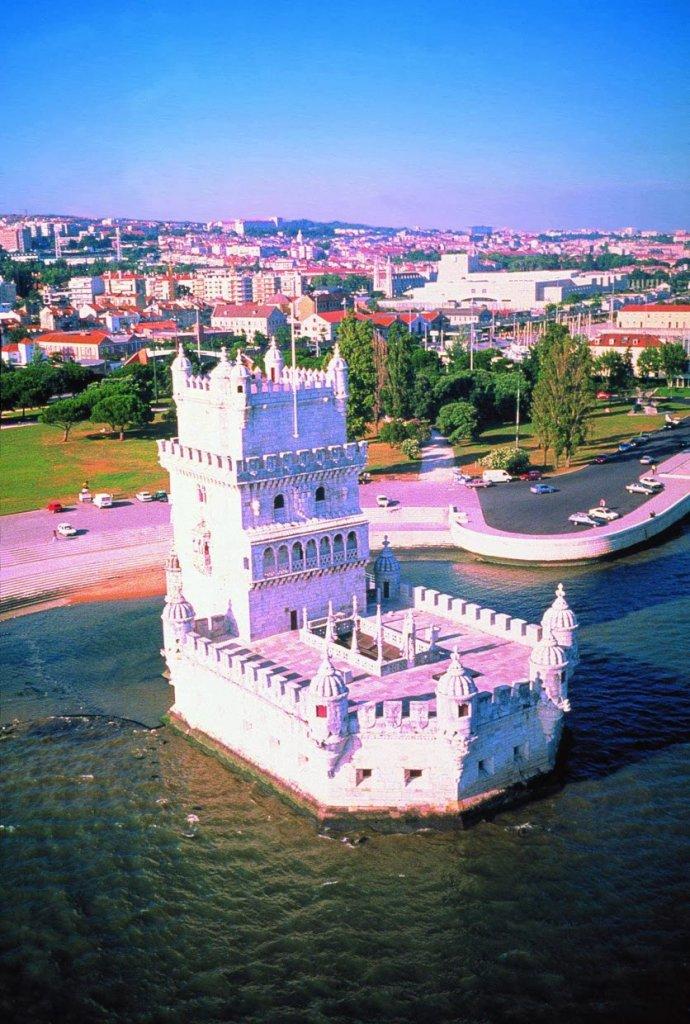 Torre de Belém em Lisboa vista de fora