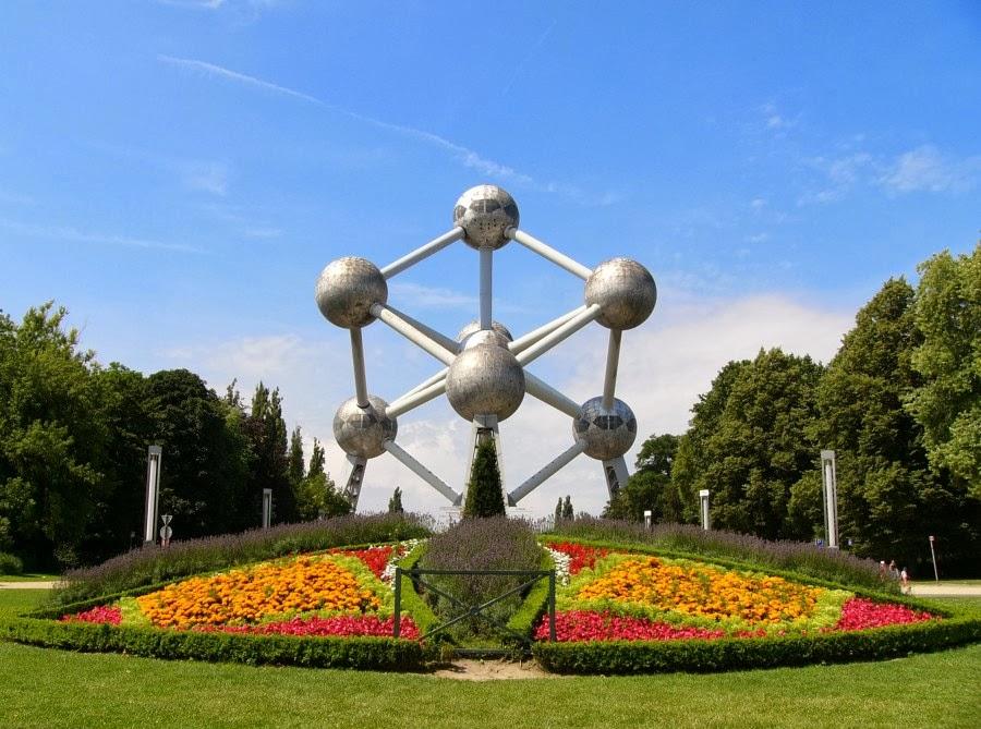 Atomium de Bruxelas na Bélgica