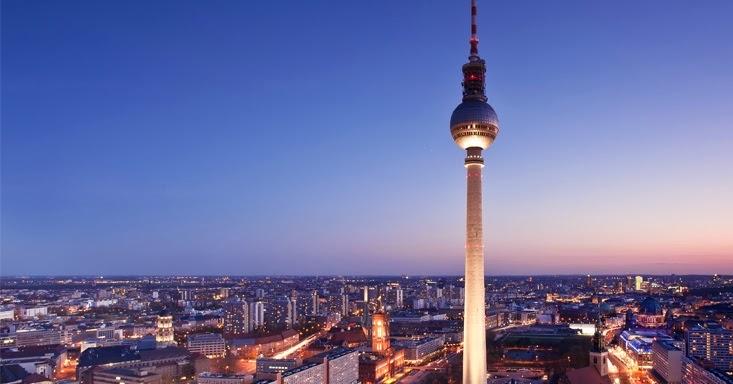 Topo da Torre Berliner Fernsehturm
