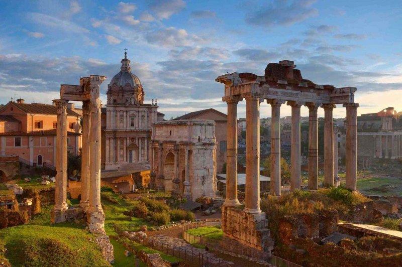 Fórum Romano em Roma | Itália