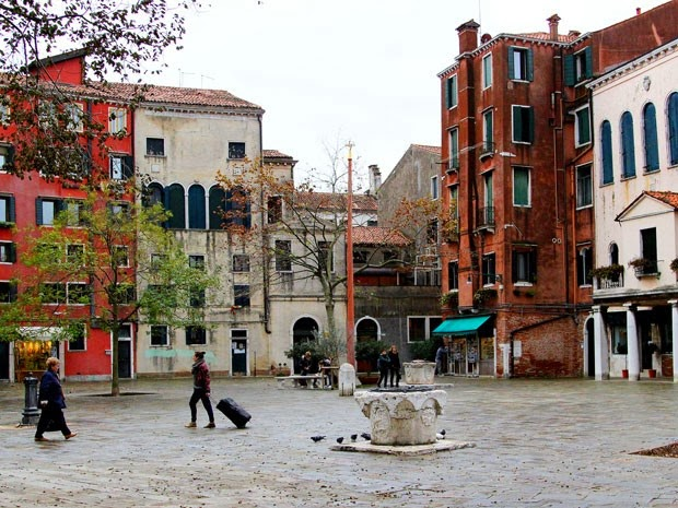 Gueto Judaico em Veneza na Itália