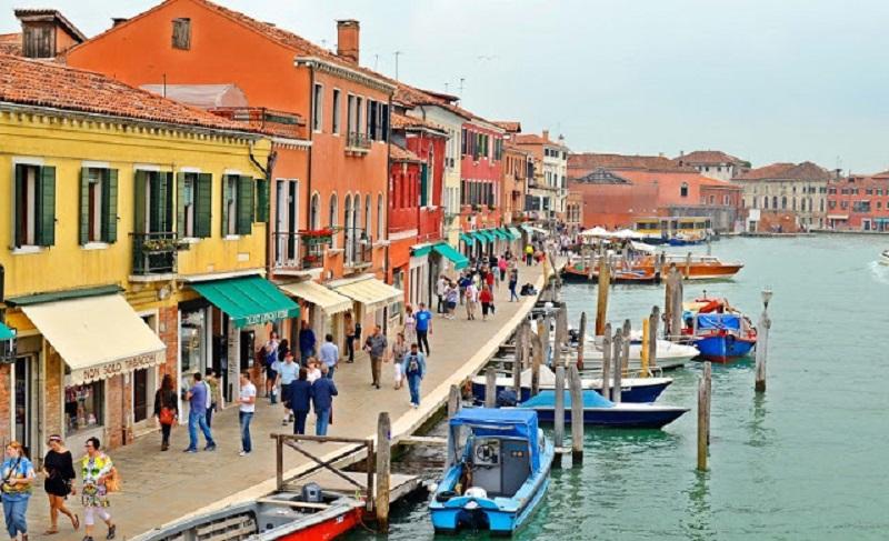 Ilha Murano em Veneza | Itália