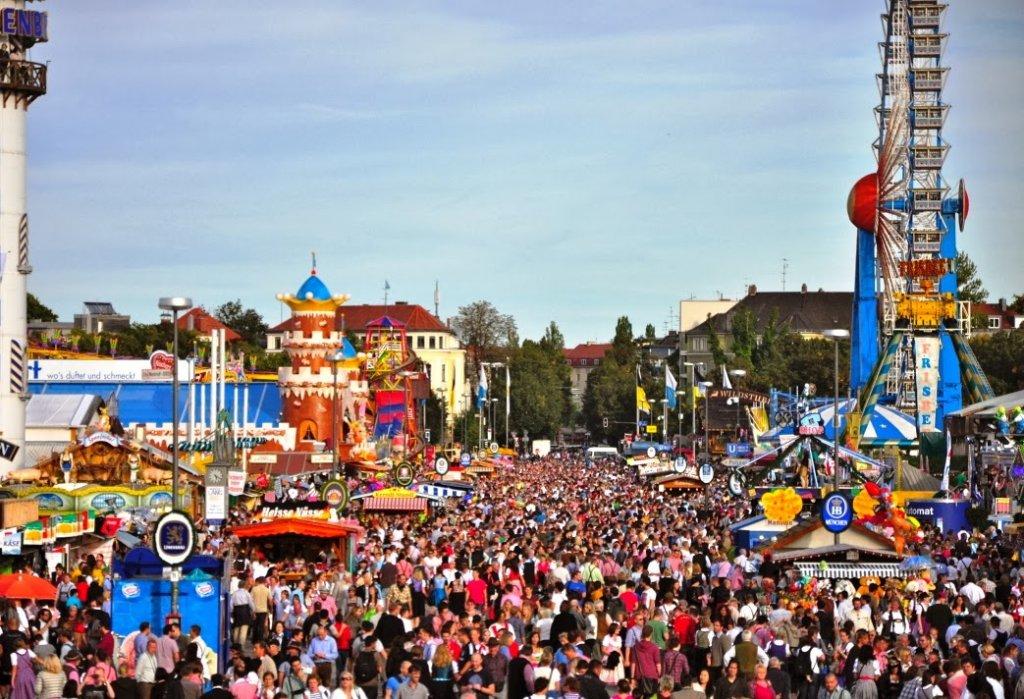 Local que acontece o Oktoberfest de Munique
