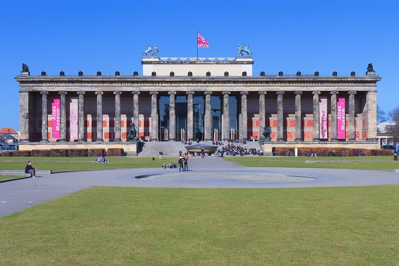 Altes Museum na Ilha dos Museus em Berlim