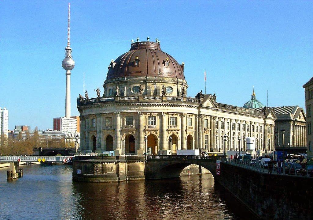 Museu Bode na Ilha dos Museus em Berlim