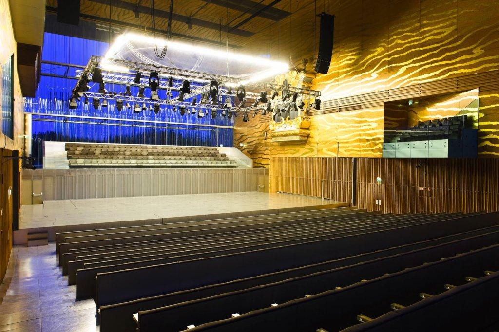 Interior da Casa da Música em Porto