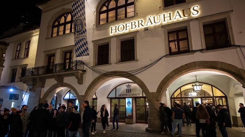 Cervejaria Hofbräuhaus em Munique | Alemanha