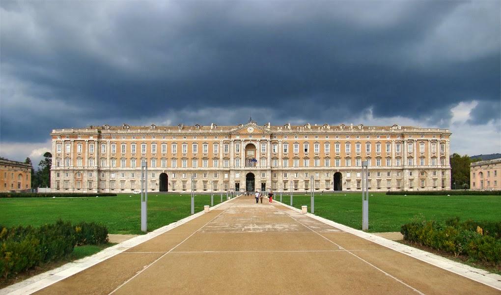 Reggia Palácio de Caserta na Itália