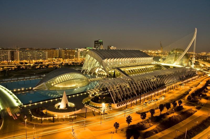 Cidade das Artes e das Ciências em Valência | Espanha