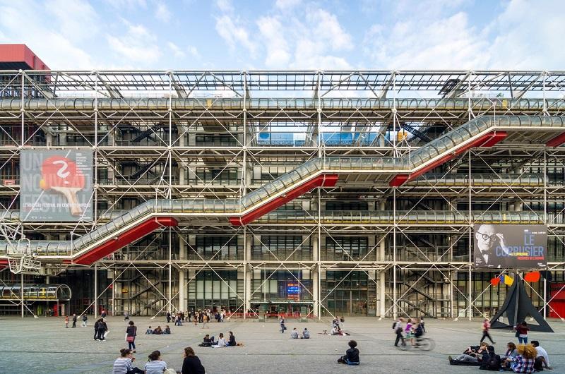Centro Georges Pompidou em Paris | França