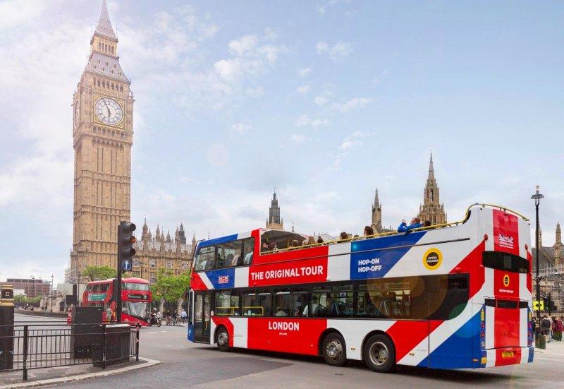 Passeio de ônibus turístico em Londres | Inglaterra