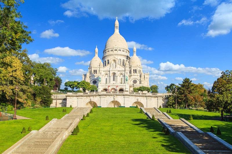 Basílica do Sagrado Coração em Paris | França