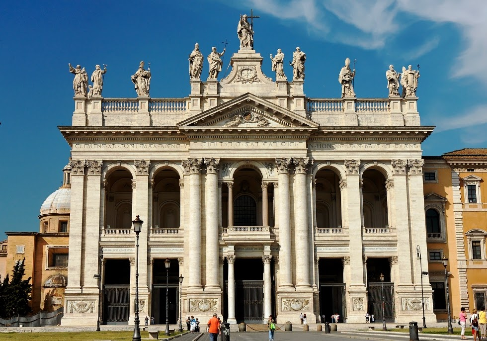 Basilica São João de Latrão em Roma