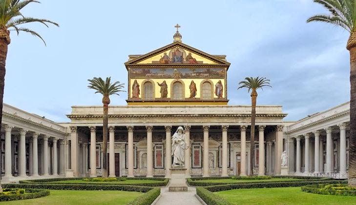 Basílica de São Paulo Extramuros em Roma