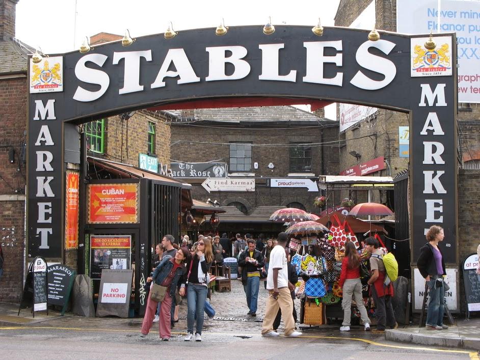Stables Market em Camden Town
