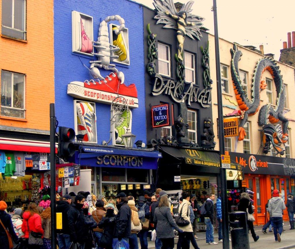 Camden Lock Village em Camden Town