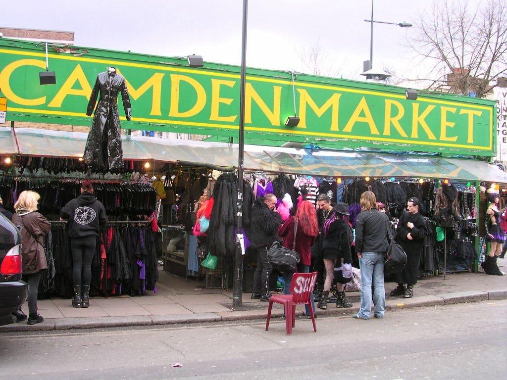 Camden Market em Camden Town