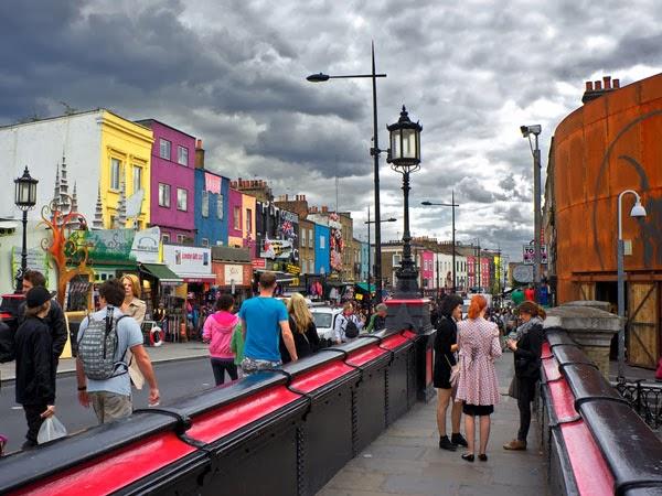 Camden Town em Londres na Inglaterra