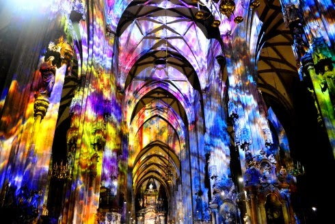 Interior da Catedral de Santo Estevão em Viena