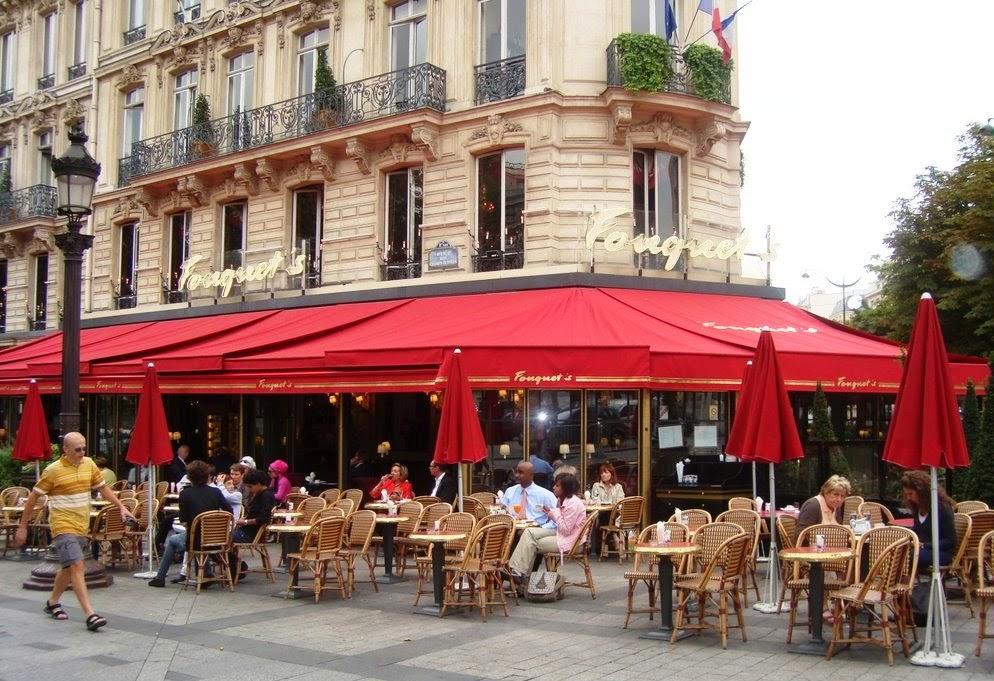 Café Fouquet's em Paris