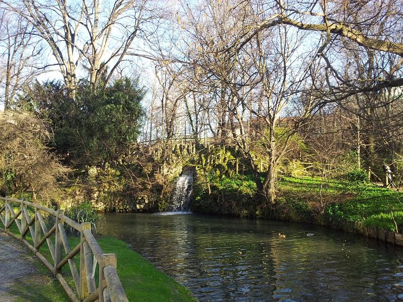 Jardim Giardino della Villa Reale em Milão | Itália
