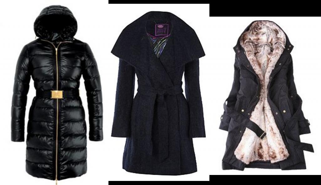 Modelos de casacos de inverno