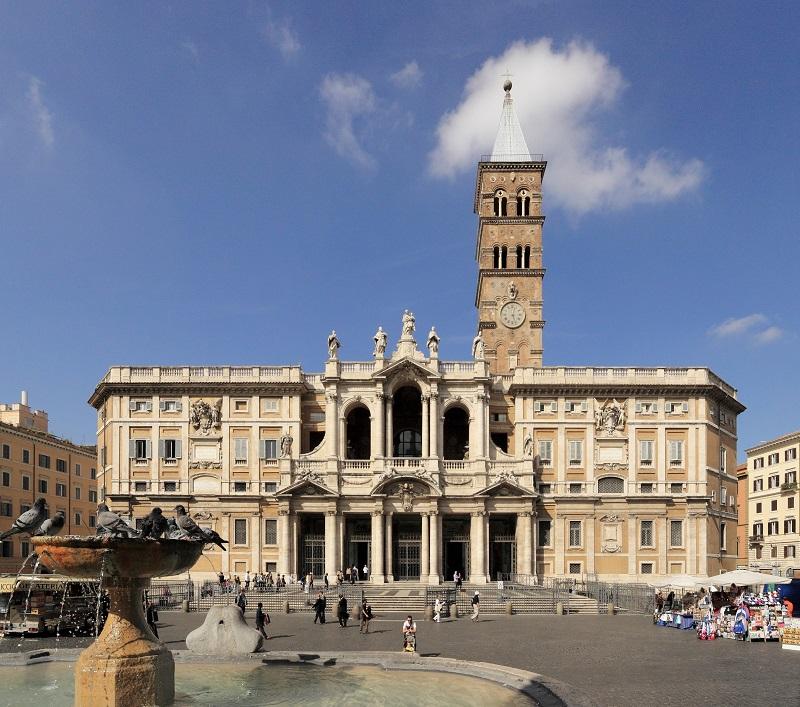 Basílica de Santa Maria Maior em Roma – Itália