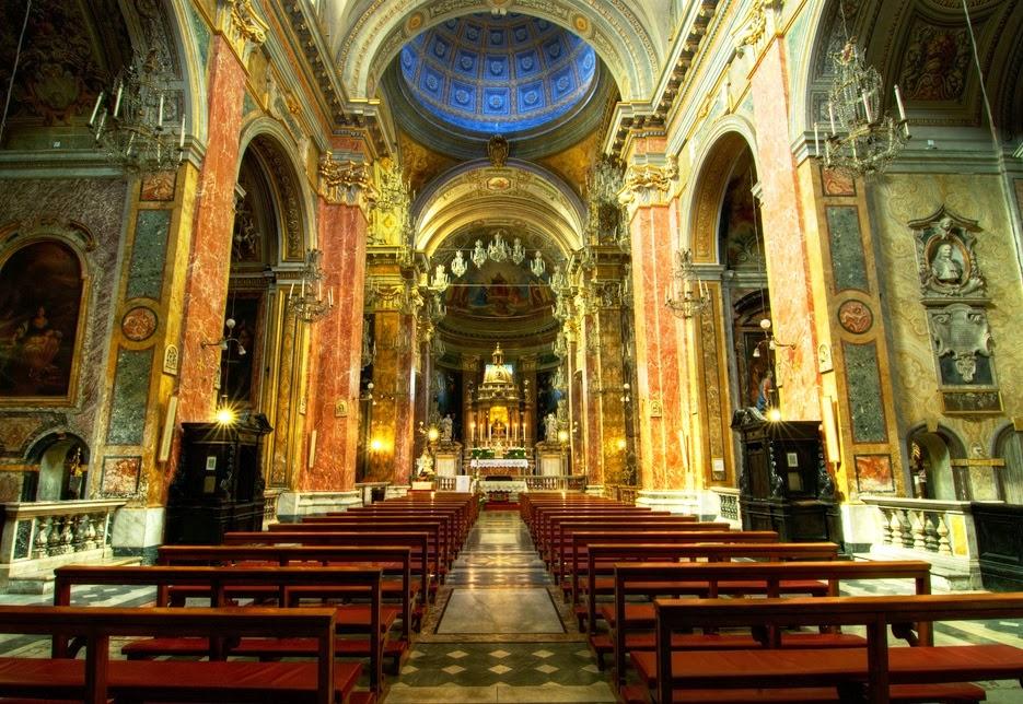 Santuário da escada santa em Roma