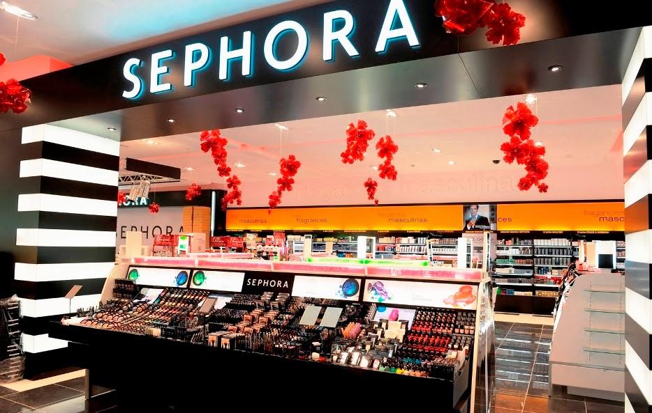 Loja Sephora em Madri