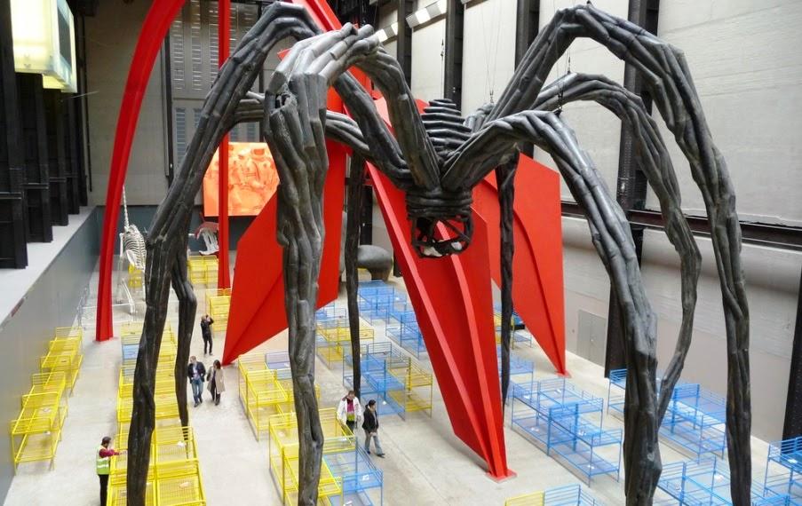Obra exposta no Museu Tate Modern em Londres