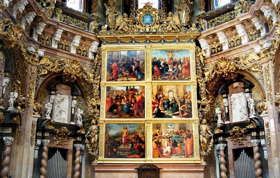 Interior da Catedral de Valência na Espanha