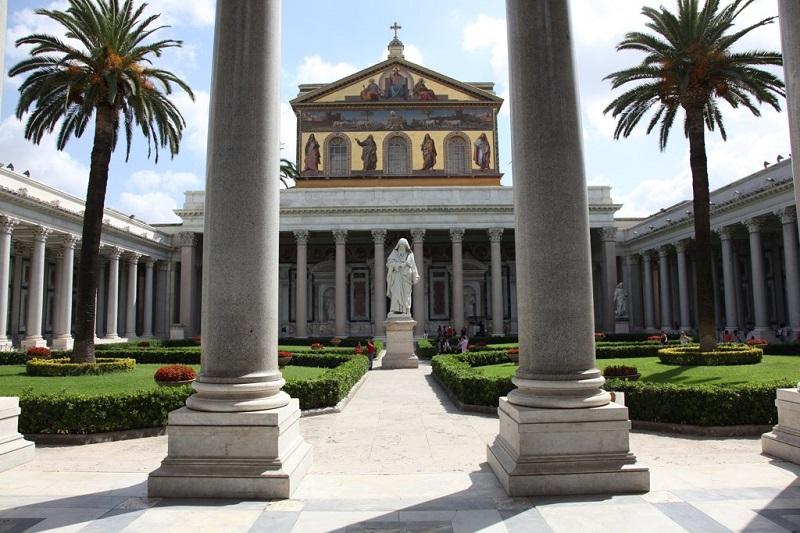 Basílica de São Paulo Extramuros em Roma – Itália
