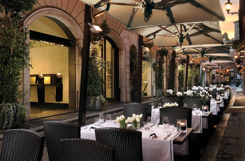 Café Romano em Roma – Itália