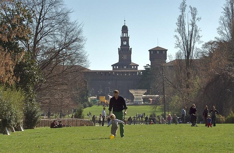 Parque Sempione em Milão | Itália