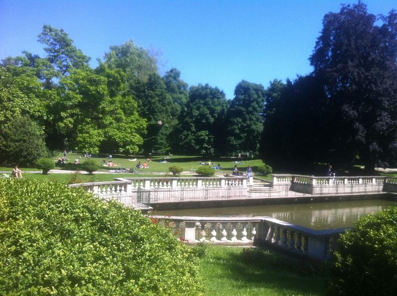 Jardim Giardini della Guastalla em Milão – Itália