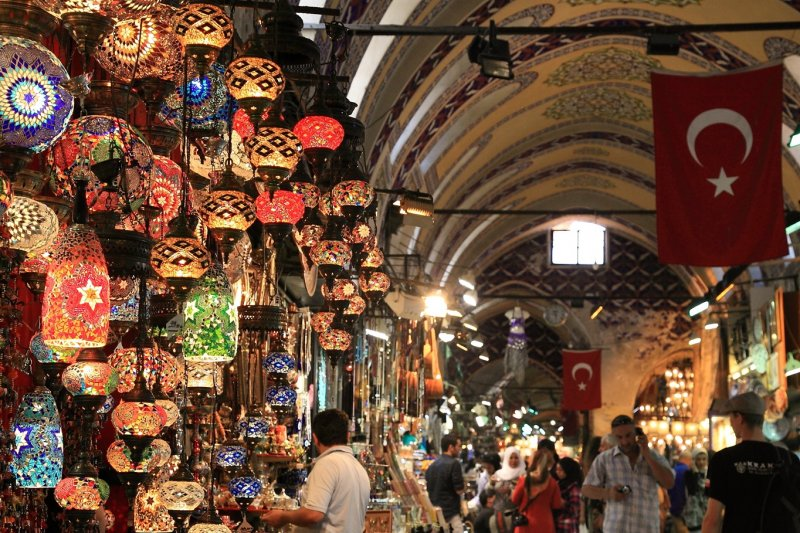 Mercado Grande Bazar de Istambul | Turquia
