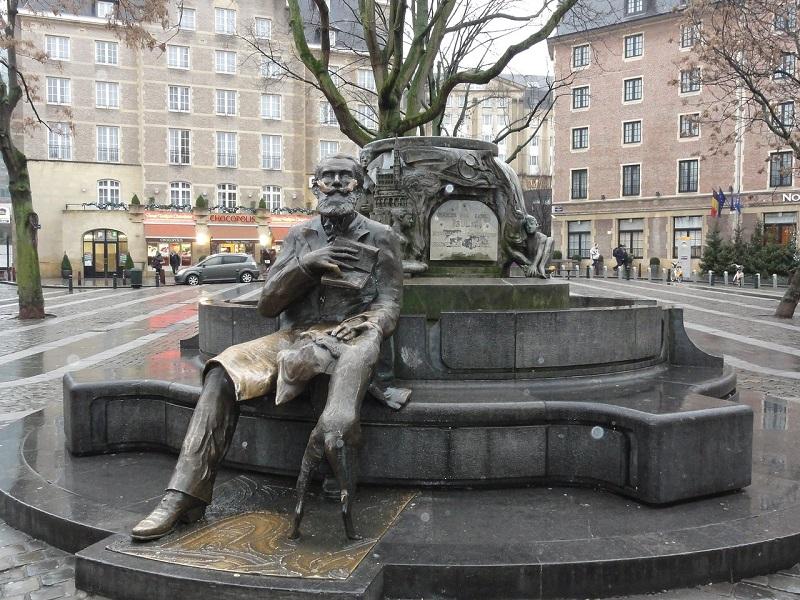 Place de l'Agora em Bruxelas