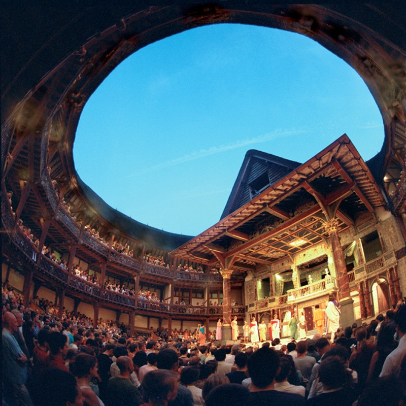 Teatro The Globe de Shakespeare em Londres   Inglaterra