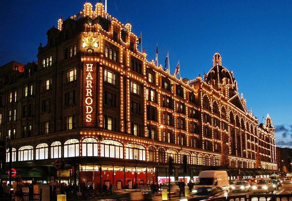 Loja de departamento Harrods em Londres