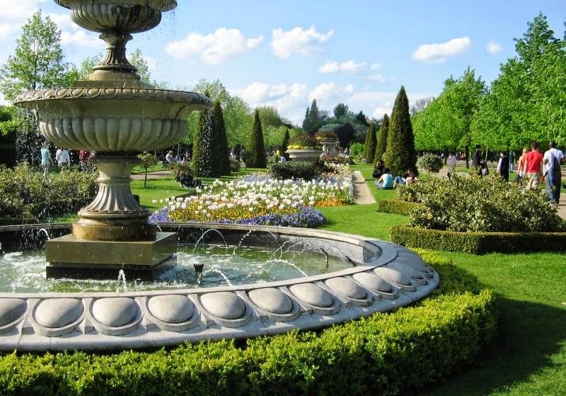 Parque Regent Park em Londres