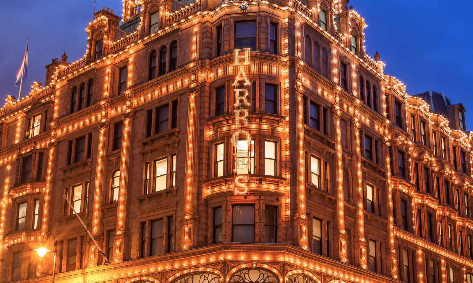 Loja de departamento Harrods em Londres | Inglaterra