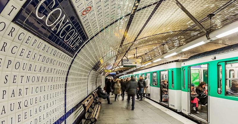 Como andar de metrô em Paris – França