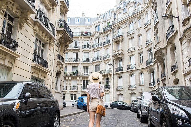 Como andar em Paris – França