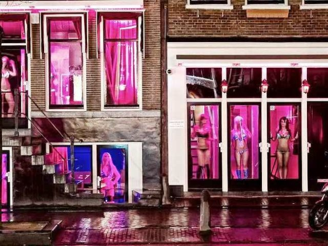 Red Light District em Amsterdam | Holanda